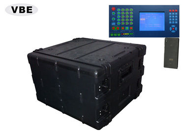High Performance Convoy Bomb Jammer , Mobile Phone Jammer 700*430*430mm Size